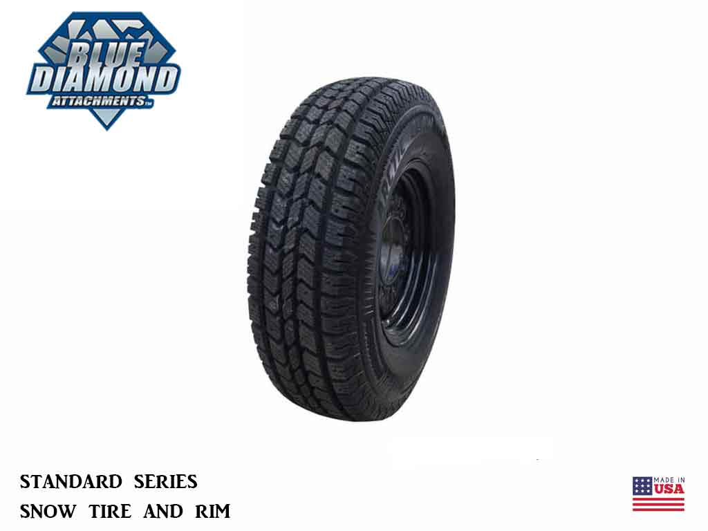 BLUE DIAMOND Standard Series Snow Tires and Rims (SSL)