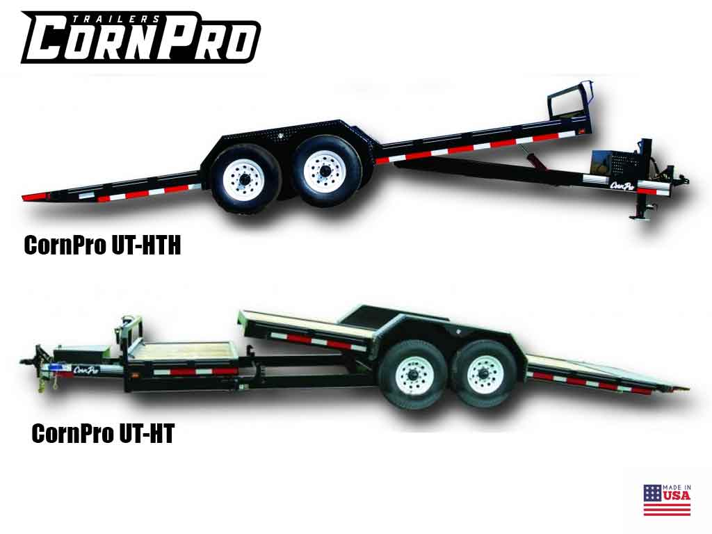CornPro UT-HT and UT-HTH series, heavy duty utility trailer with tilting deck