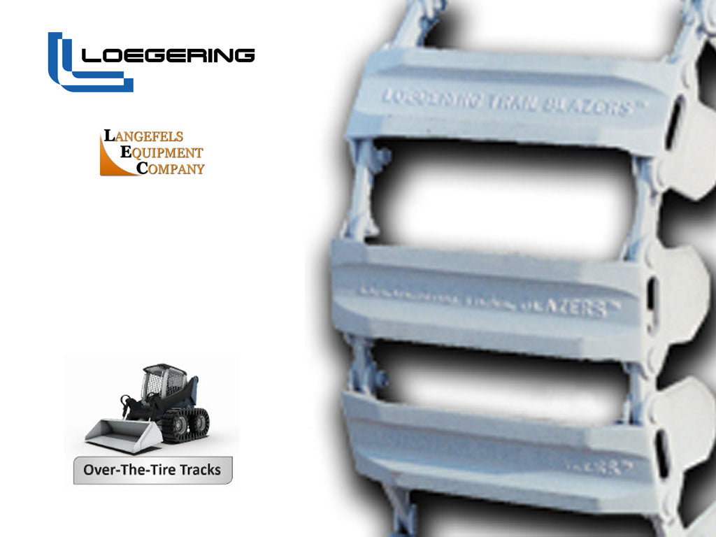 LOEGERING steel tracks, F-Series, for BOBCAT(SSL)