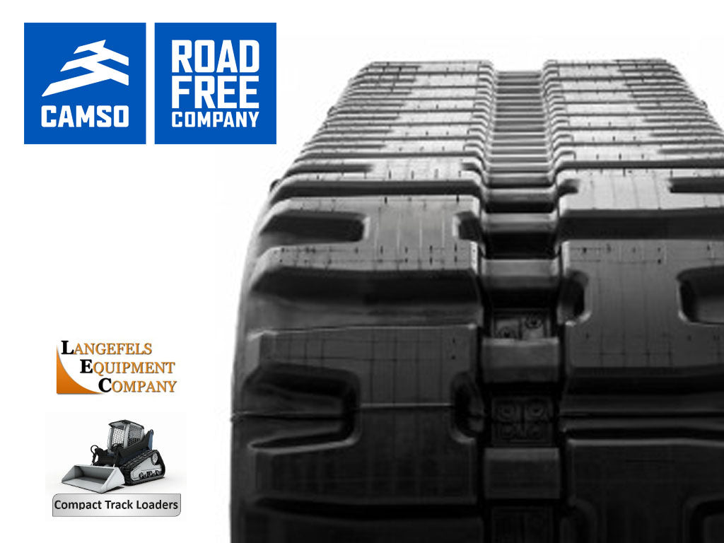 CAMSO HXD SERIES RUBBER TRACK, BOBCAT T180, T190, T550, T590, T595