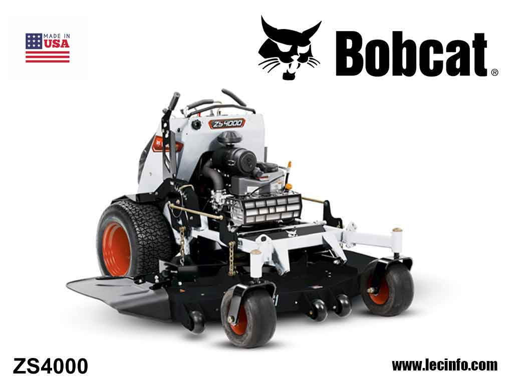 BOBCAT ZS4000 Zero Turn Stand On Mower