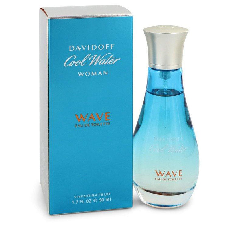 Cool Water Wave by Davidoff Eau De Toilette Spray 1.7 oz