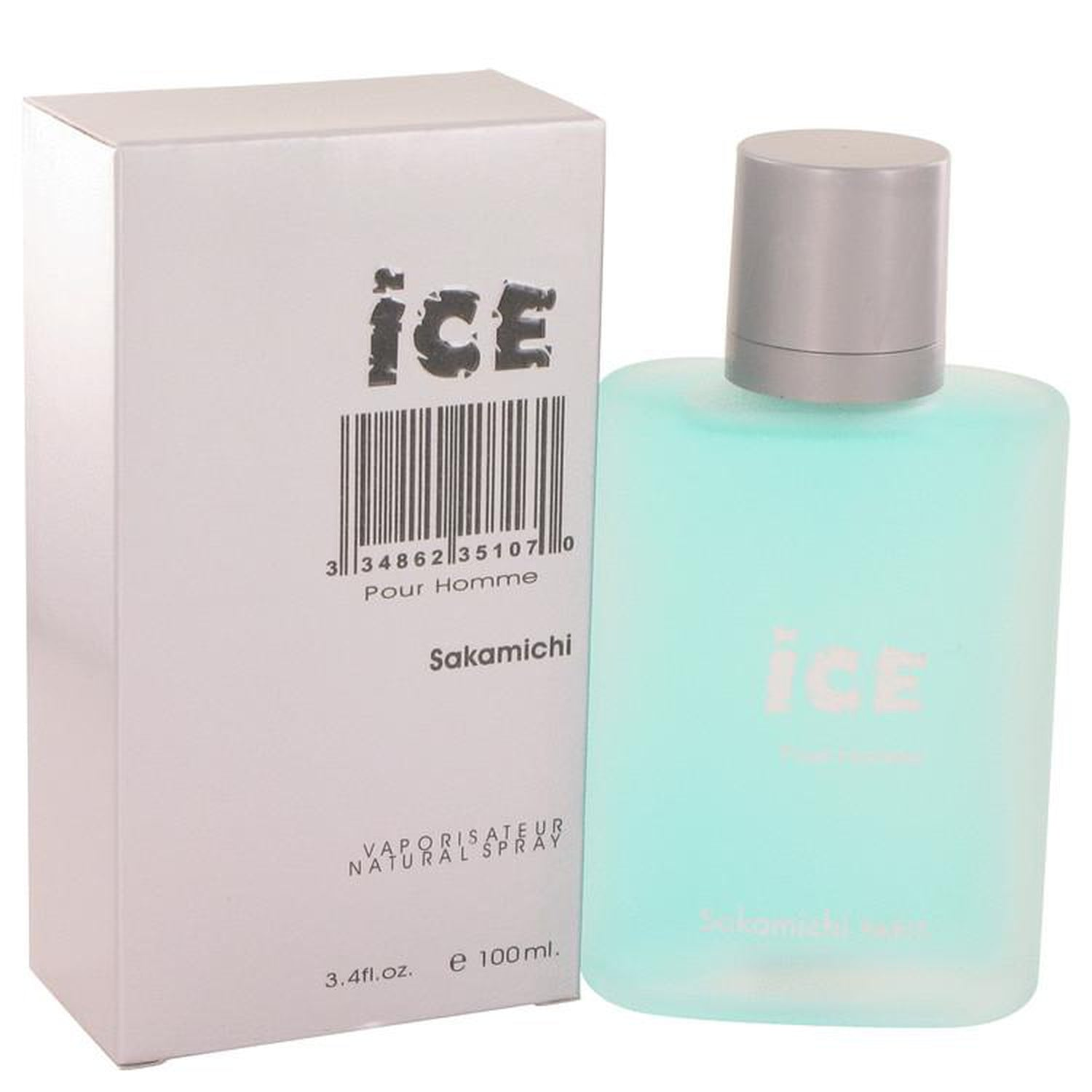 Ice Eau De Parfum Spray By Sakamichi 3.4 oz Eau De Parfum Spray
