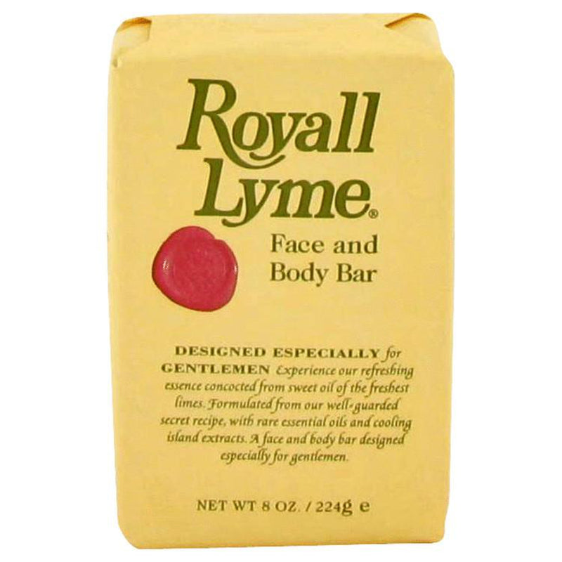 ROYALL LYME by Royall Fragrances Face and Body Bar Soap 8 oz