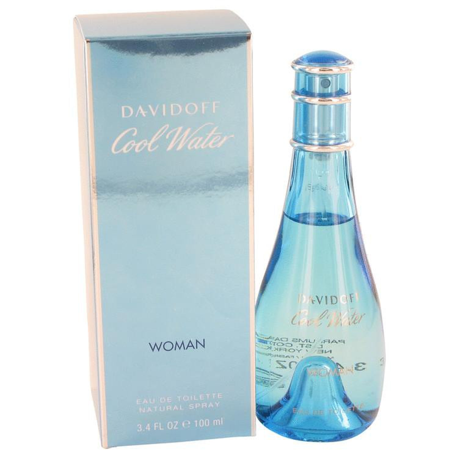 COOL WATER by Davidoff Eau De Toilette Spray 3.4 oz