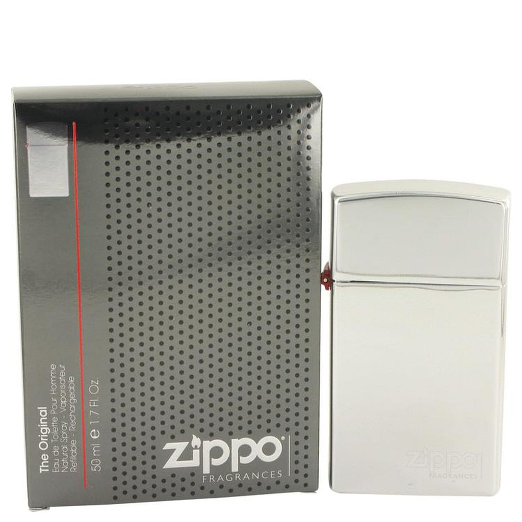 Zippo Original Eau De Toilette Spray Refillable By Zippo 1.7 oz Eau De Toilette Spray Refillable
