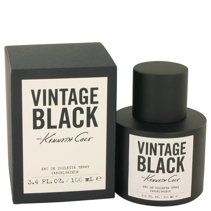 Kenneth Cole Vintage Black by Kenneth Cole Eau De Toilette Spray 3.4 oz