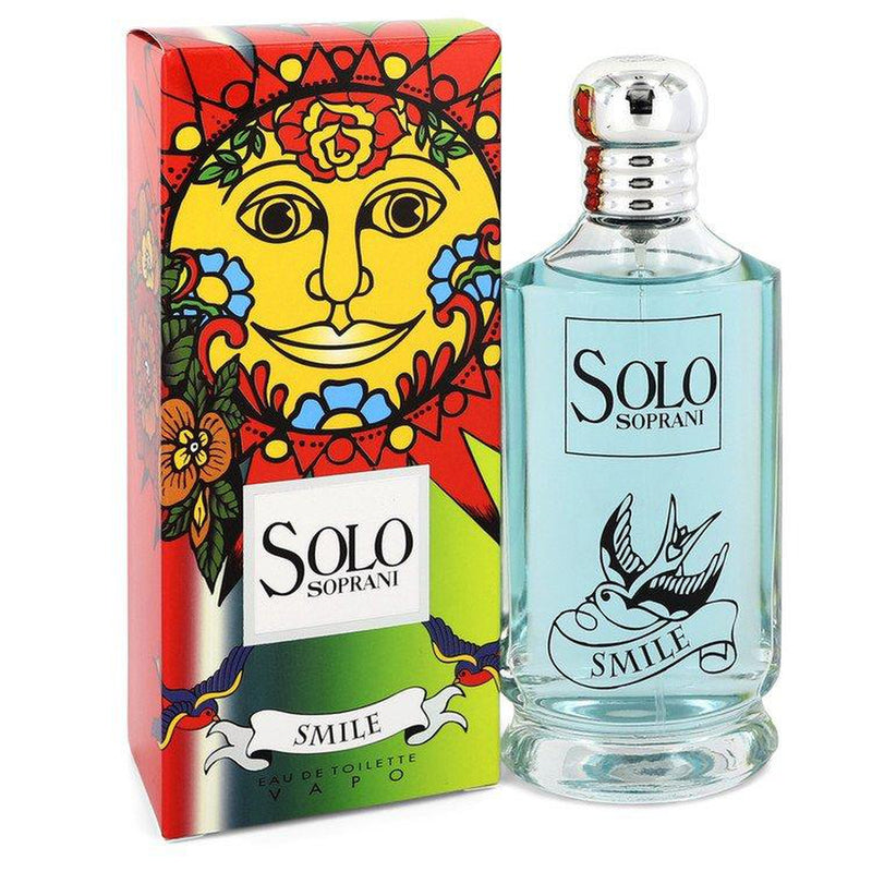 Solo Smile by Luciano Soprani Eau De Toilette Spray 3.4 oz