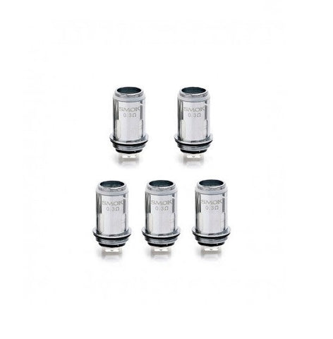 Vape Pen 22 Replacement Coils by Smok (Pack of 5)