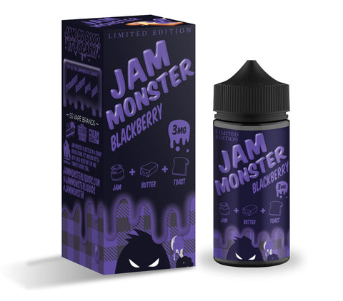 Jam Monster Blackberry E-liquid (100ML)