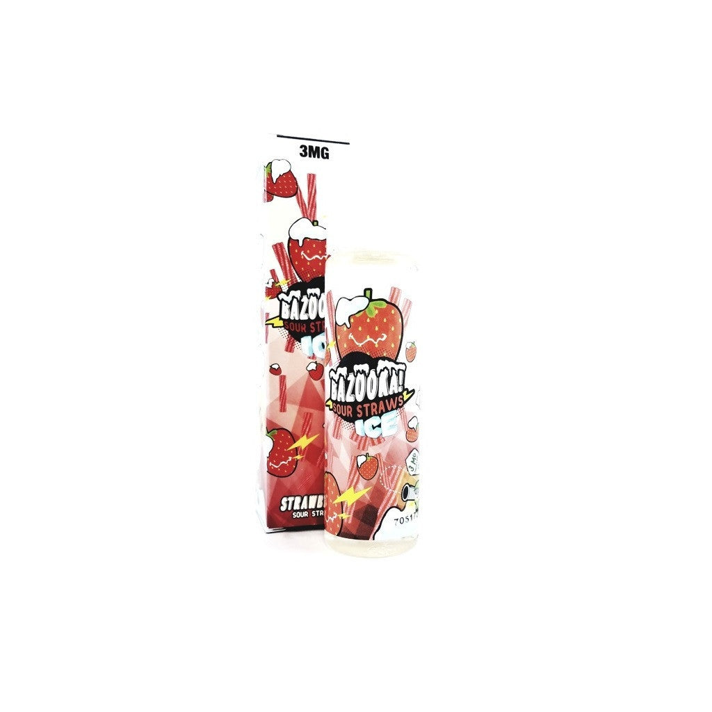 Bazooka Strawberry ICE E-liquid (60ml)