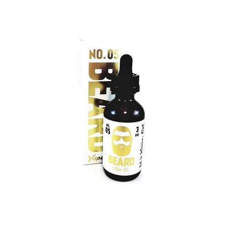 Beard Vape Co. N. 05 NY Style Cheesecake with Strawberries E-liquid (60mL)