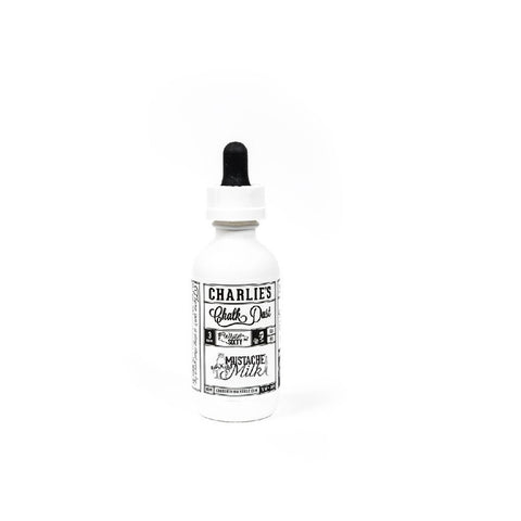 Charlie's Chalk Dust Mustache Milk E-liquid (60ml)