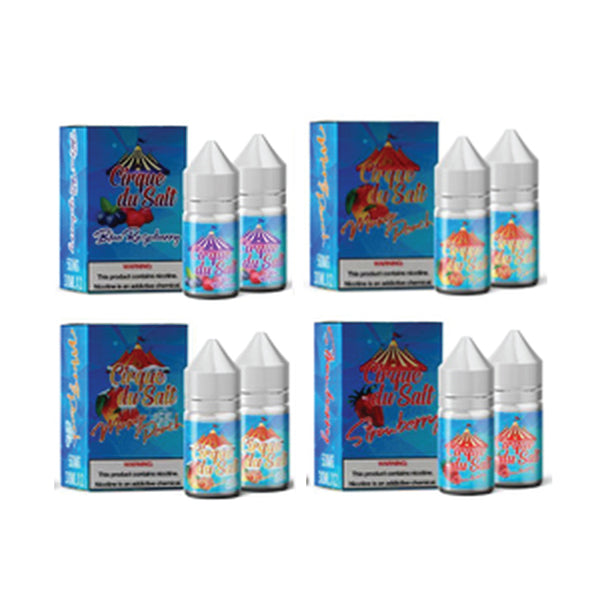 Cirque Du Salt Twin Pack E-liquid Collection (60ML)