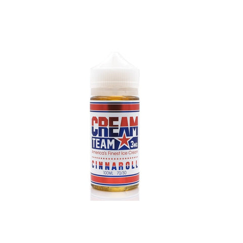 Cinnaroll by Cream Team E-liquids (100ml)