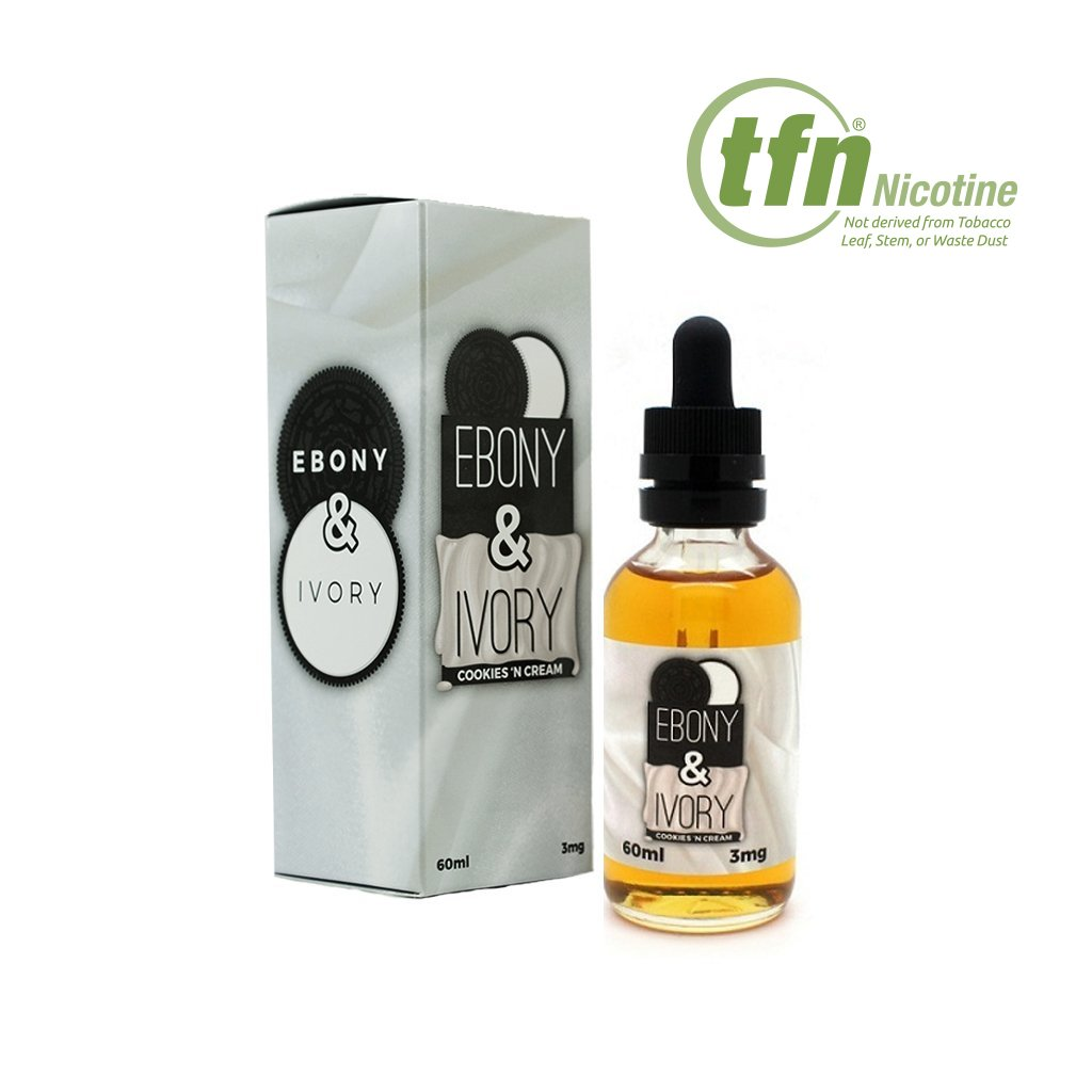 Enfuse Vapory Ebony and Ivory E-liquid with TFN® (60mL)