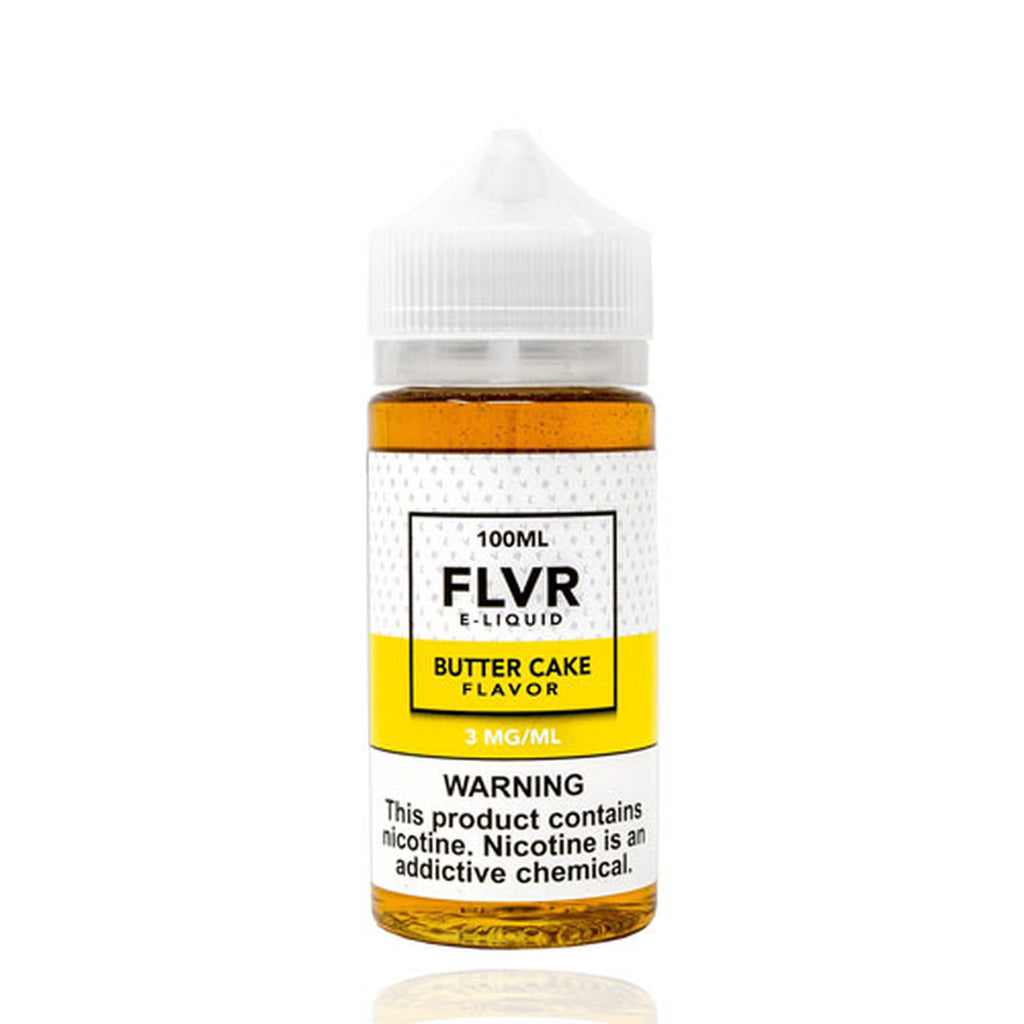 FLVR Butter Cake E-liquid (100ml)