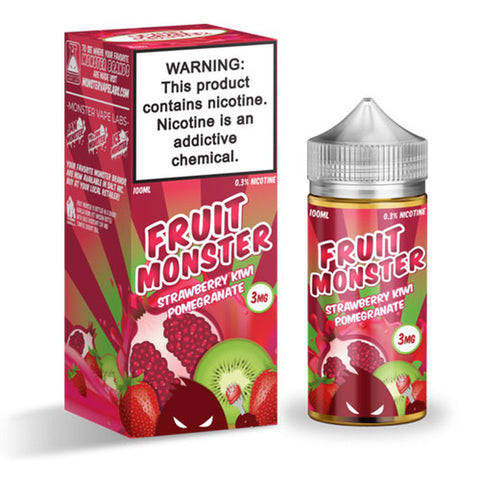 Fruit Monster Strawberry Kiwi Pomegranate E-liquid (100ML)
