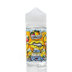 Fruit POP! Juicy Mango Strawberry ICED E-liquid (100ML)