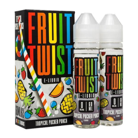 Tropical Pucker Punch E-liquid by Fruit Twist (120ml)