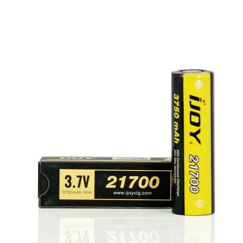IJOY 21700 40A 3750mAh FLAT TOP Battery (1 Pack)