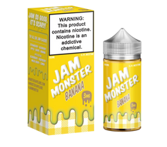 Jam Monster Banana E-liquid (100ML)