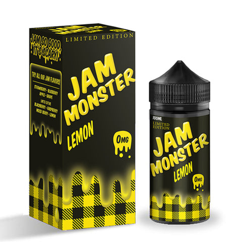 Jam Monster Lemon E-liquid (100ML)
