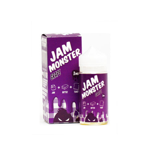 *NEW* Jam Monster Grape E-liquid (100ML)