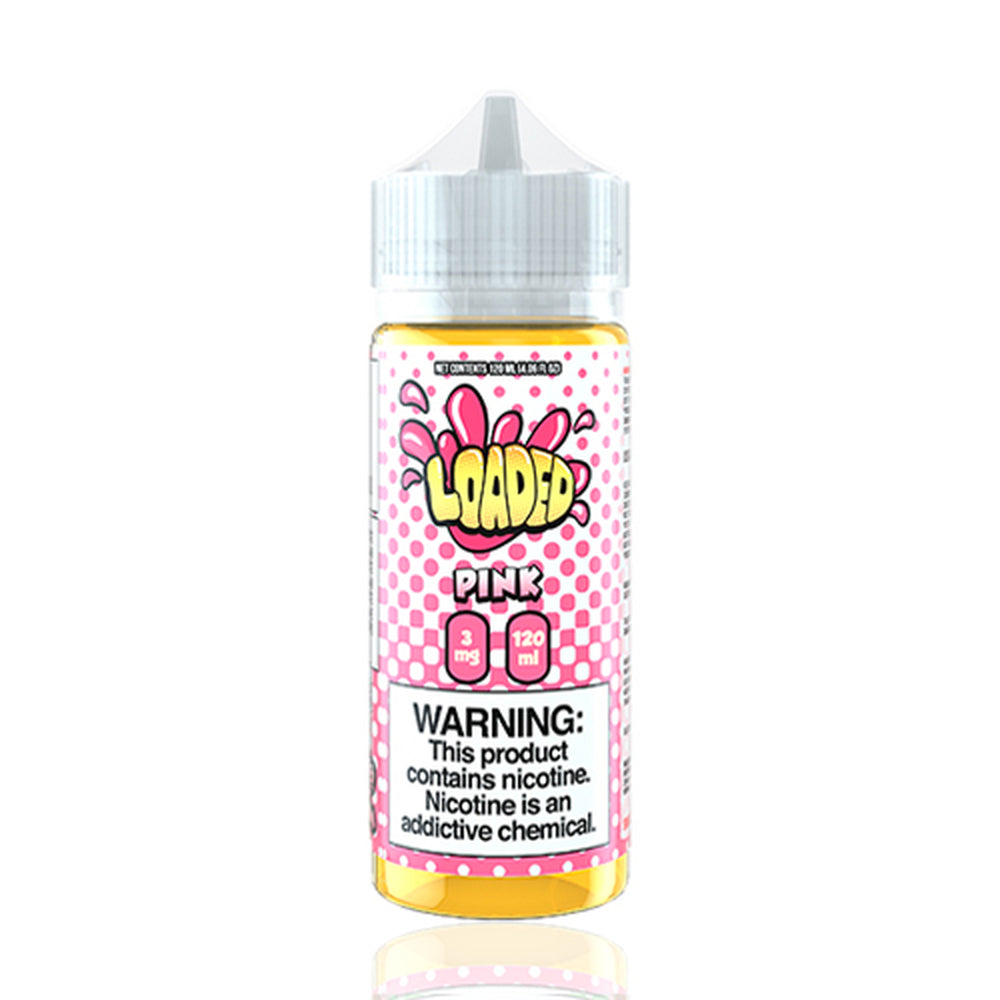 Pink E-liquid by Loaded (120ML)