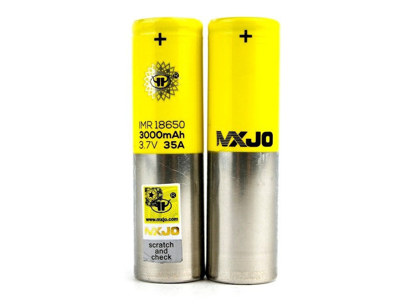 MXJO IMR 18650F 3000MAH 35A Battery (1 Pack)