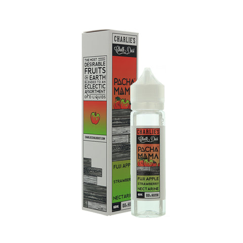 Pachamama Fuji Apple Strawberry Nectarine by Charlie's Chalk Dust E-liquid (60mL)