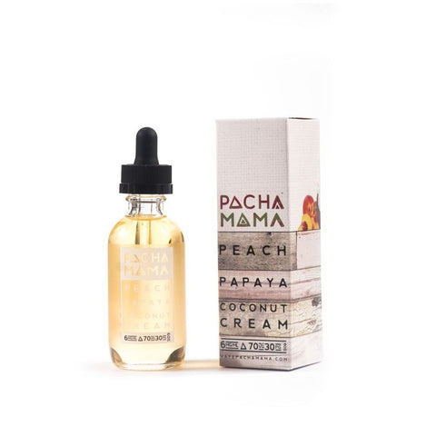 Pachamama Peach, Papaya and Coconut Cream by Charlie's Chalk Dust E-liquid (60mL)