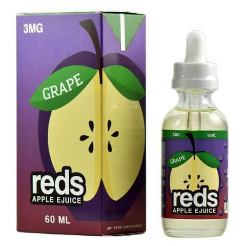 Grape E-liquid by Reds Apple (60ML)