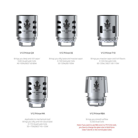 Smok TFV12 Replacement Coils for TFV12 Prince Cloud Beast Tank