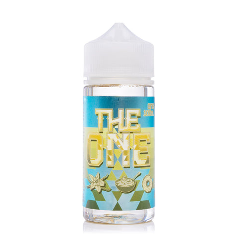 The One Vanilla Custard Donut E-liquid by Beard Vape Co (100ml)