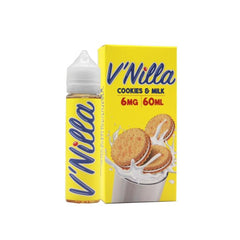 *NEW* V'Nilla Cookies & Milk E-Liquid (60mL)