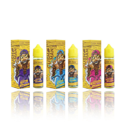 Nasty E-liquid Cush Man Series Collection (60ML)