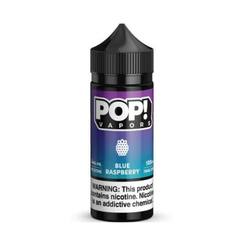 POP! Vapors Blue Raspberry E-liquid (100ML)