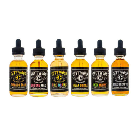 Cuttwood E-liquid Collection (120ML)