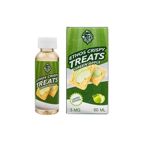 Ethos Vapors Green Apple Crispy Treats (60ML)