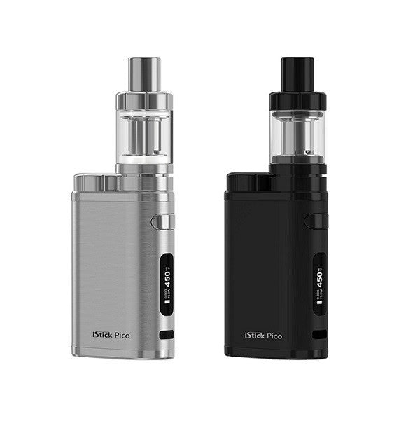 iStick Pico 75W by Eleaf (Full Black & Brushed Silver)