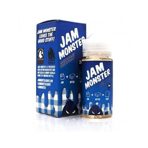 Jam Monster Blueberry E-liquid (100ML)