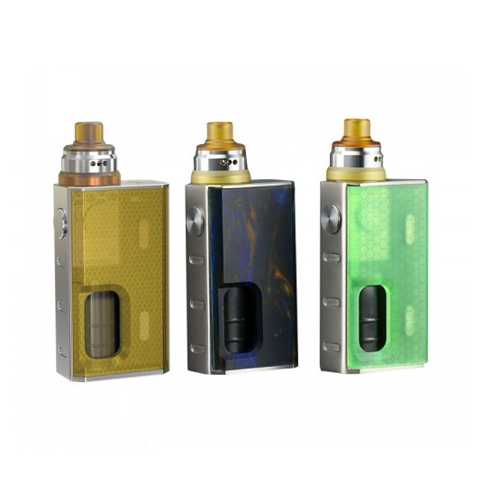 Wismec Luxotic Squonker Kit with Tobhino BF RDA