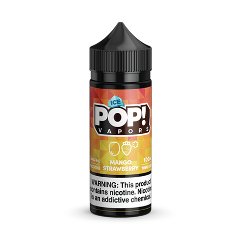 POP! Vapors Mango Strawberry ICED E-liquid (100ML)