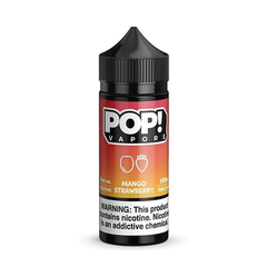 POP! Vapors Mango Strawberry E-liquid (100ML)