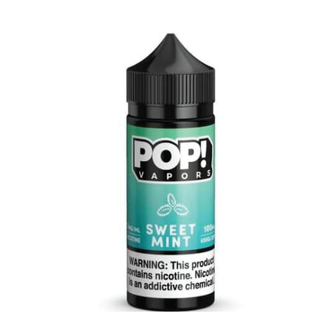 POP! Vapors Sweet Mint E-liquid (100ML)