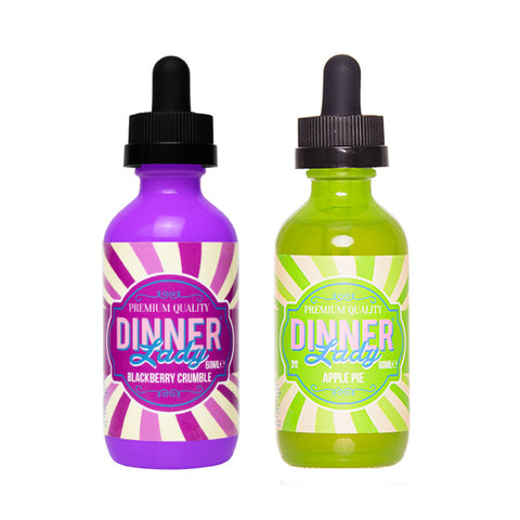 Dinner Lady Pie E-liquid Collection (60ML)