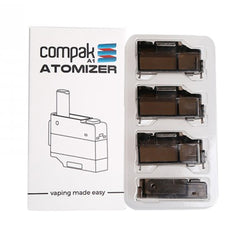 Sigelei Compak A1 Atomizer Cartridge (3 Pack)