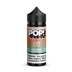 POP! Vapors Strawberry Watermelon E-liquid (100ML)