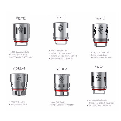 Smok TFV12 Cloud Beast King Replacement Coils (Pack of 3)